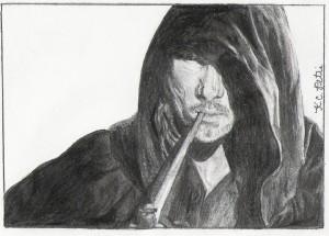 Aragorn_Hooded